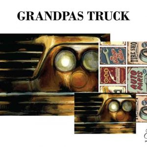 "Grace on Design Decoupage Papier ""Grandpa's Truck"""