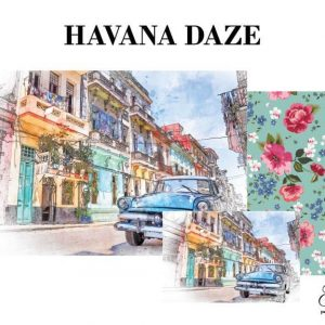 "Grace on Design Decoupage Papier ""Havana Daze"""