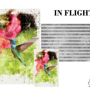 "Grace on Design Decoupage Papier ""In Flight"""