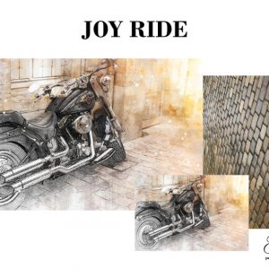 "Grace on Design Decoupage Papier ""Joy Ride"""