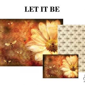 "Grace on Design Decoupage Papier ""Let it Bee"""