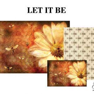 """Grace on Design Decoupage Papier """"Let it Bee"""""""