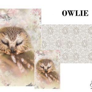 "Grace on Design Decoupage Papier ""Owlie"""