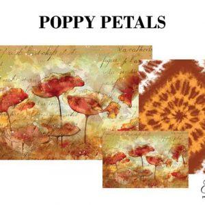 """Grace on Design Decoupage Papier """"Poppy Petals"""""""