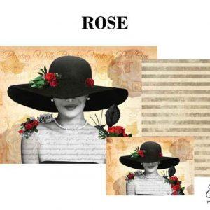 "Grace on Design Decoupage Papier ""Rose"""