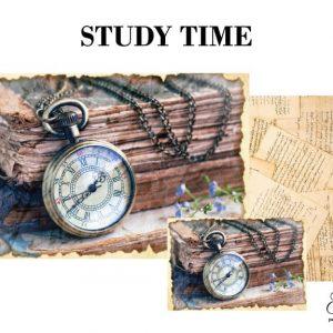 """Grace on Design Decoupage Papier """"Study Time"""""""