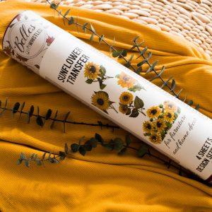 Belles & Whistles Transfer Sunflower 62 x 81 cm