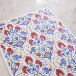 Belles & Whistles Decoupage Paper Whimsical Mediterranean 3 Blatt à 30 x 42cm