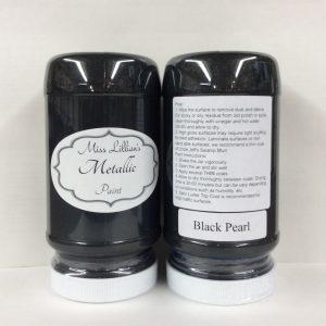 Miss Lillian's Metallic Paint Black Pearl