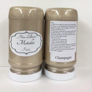 Miss Lillian's Metallic Paint Champagne