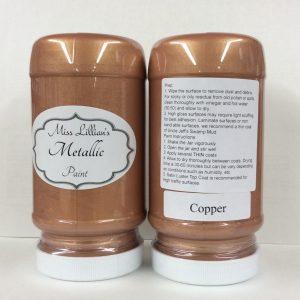 Miss Lillian's Metallic Paint Copper