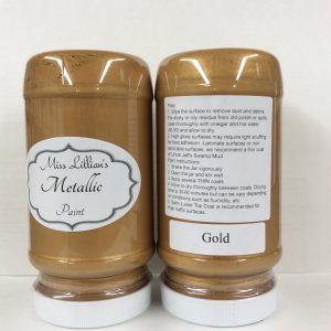 Miss Lillian's Metallic Paint Gold