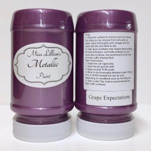 Miss Lillian's Metallic Paint Grape