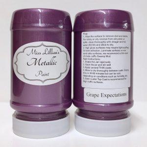 Miss Lillian's Metallic Paint Grape