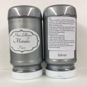 Miss Lillian's Metallic Paint Silver