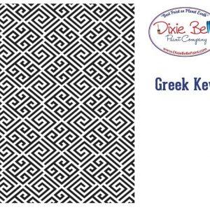 Belles and Whistles Schablone – nicht klebend – wiederverwendbar –  Greek Key 40x50cm