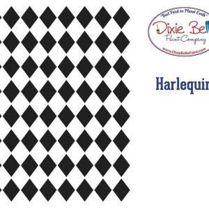 Belles and Whistles Schablone – nicht klebend – wiederverwendbar –  Harlequin 40x50cm