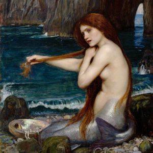 Posh Chalk Decoupage Posh Mermaid