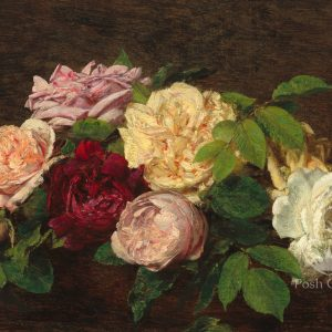 Posh Chalk Decoupage Rustic Roses