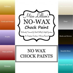 Miss Lillians's No Wax Chock Paint